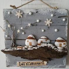 Make snowmen instead of houses.