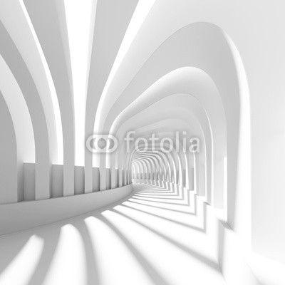 fototapeta na szafe tunel