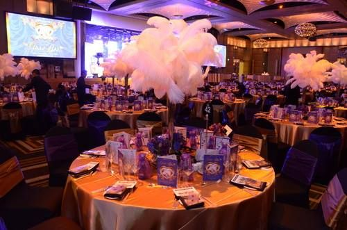 Royal Children's Gala Ball 2013 at Crown Melbourne. www.functionaccessories.com.au