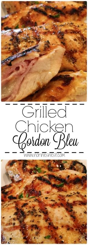 A boneless skinless chicken breast stuffed with smoked ham and swiss cheese with a Dijon Mustard marinade and a Dijon Mustard drizzle. It will knock your socks off! Better than the original!