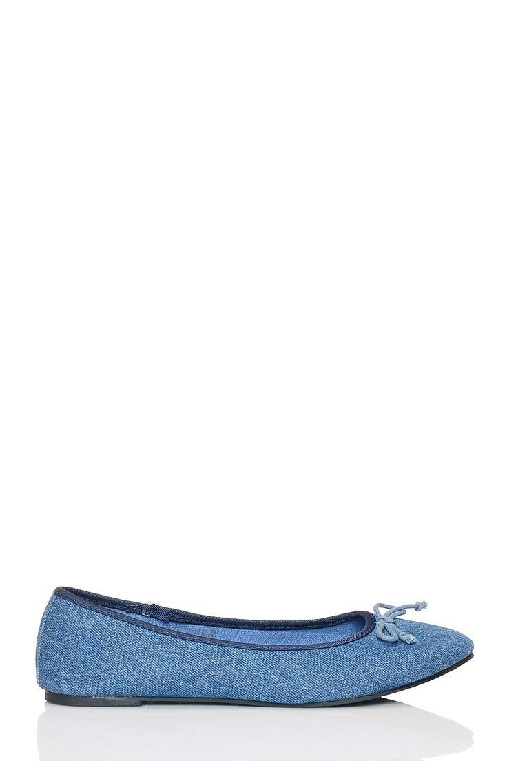 Niebieskie dżinsowe baleriny w sklepie internetowym Kari.com. W ofercie posiadamy produkt: Niebieskie dżinsowe baleriny Darmowa wysyła, możliwość zwrotu, najnowsze trendy. Sprawdź nasz promocje.