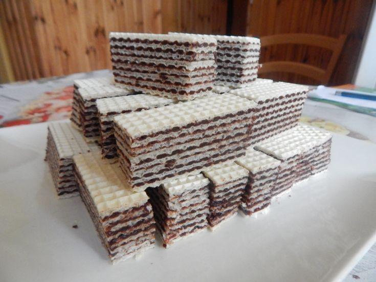 Fotorecept: Čokoládové oplátky