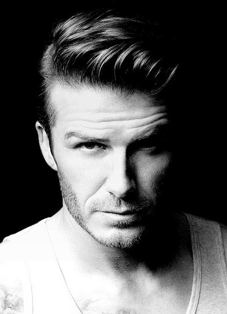 David Beckham With Images Comb Over Fade Haircut