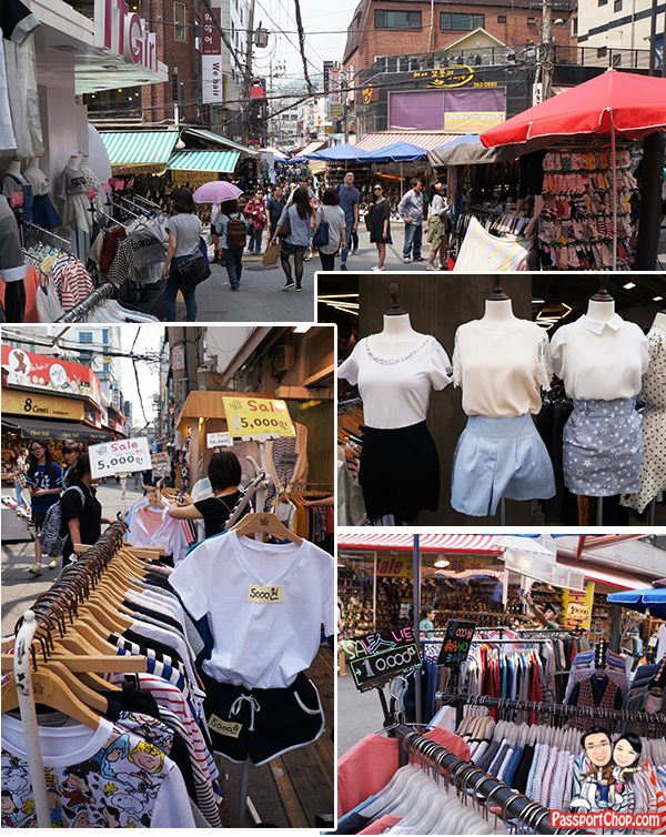 Top 4 Shopping Streets in Seoul – Myeongdong, Hongdae, Ewha, Dongdaemun | Singapore Travel Blog