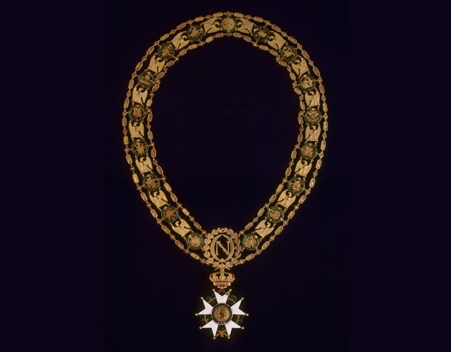 Napoleon's collar of the Great Master of the Légion d'Honneur