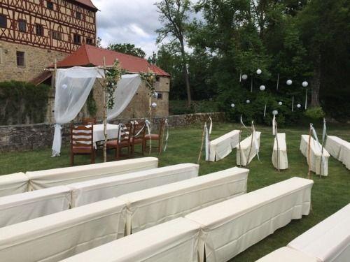 Hochzeit im Wasserschloss  Unsleben