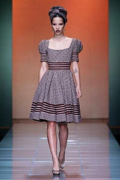 Latest Shweshwe Dresses 2014