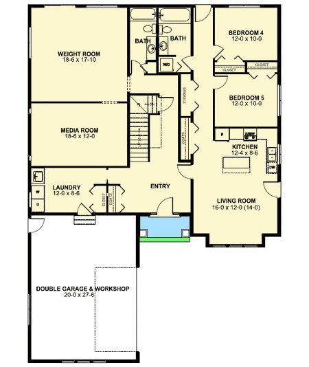 Plan 67703MG: Spacious Home Plan With In Law Suite