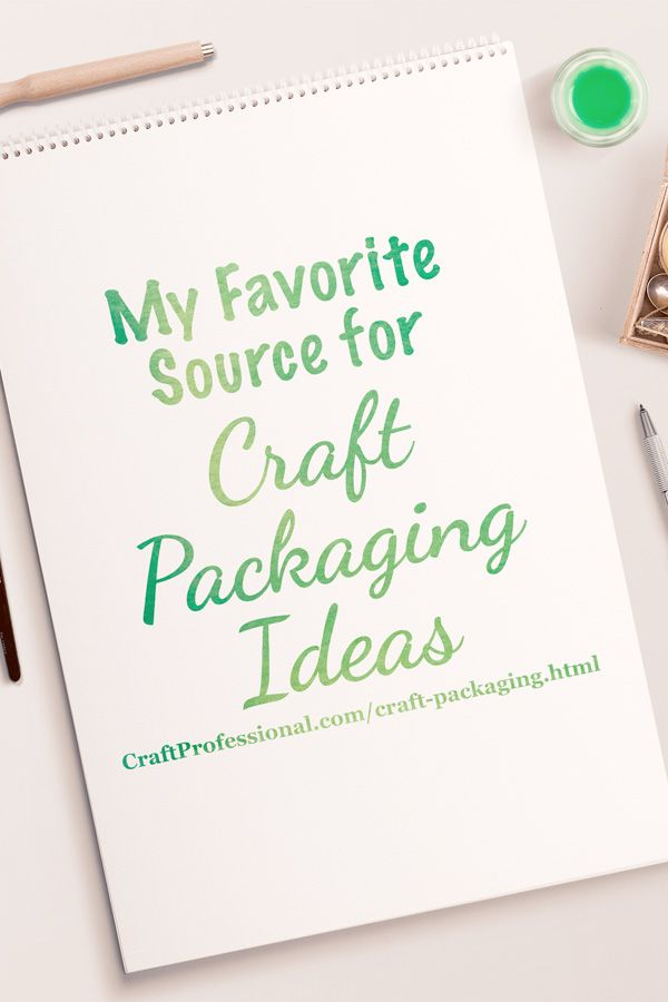 Good inspirations for packaging your crafts http://www.craftprofessional.com/craft-packaging.html