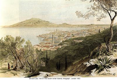 Zakynthos town around 19th century