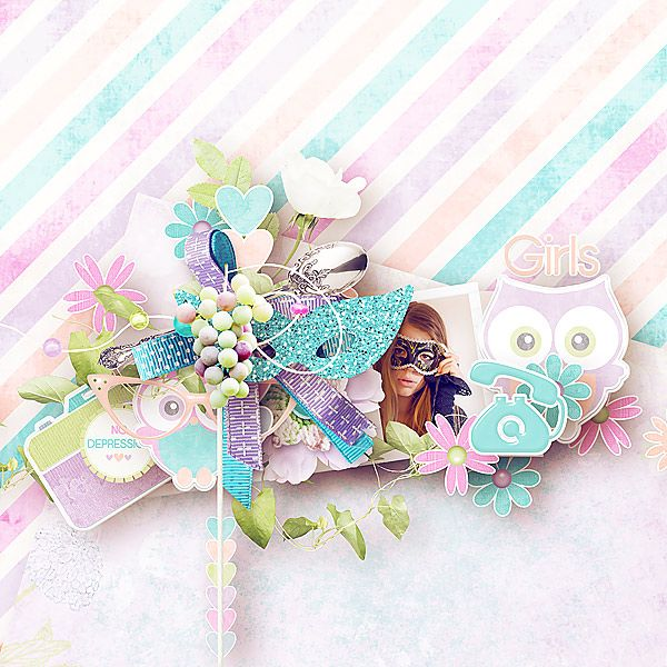Big girls party (Full collection) by Mediterranka Design