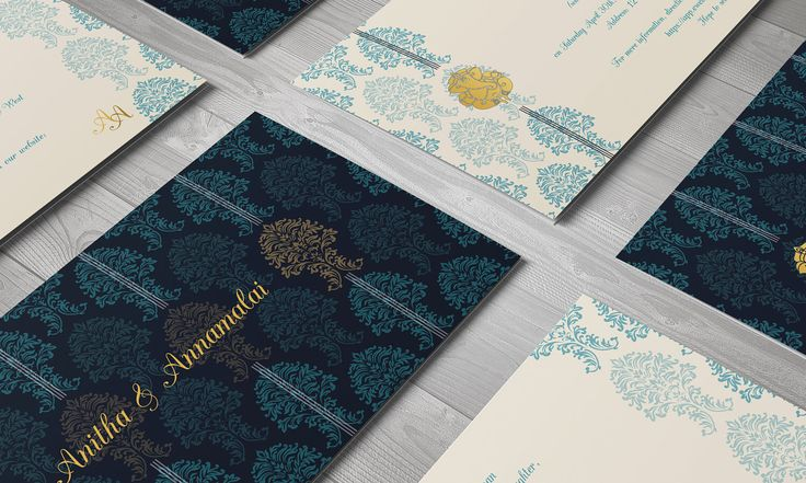 Gold Wedding Invite, Invitation Suite, India Wedding Invite - Gold Blue Invitation, Classic Invitation, DIY Wedding, Invitation Template by thesocialpapery on Etsy https://www.etsy.com/listing/470035885/gold-wedding-invite-invitation-suite
