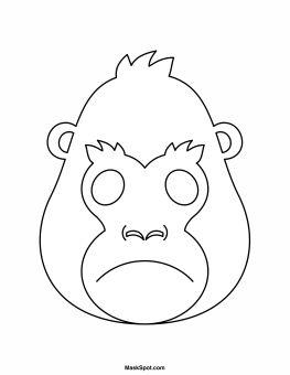 The 25 Best Gorilla Craft Ideas On Pinterest Adult