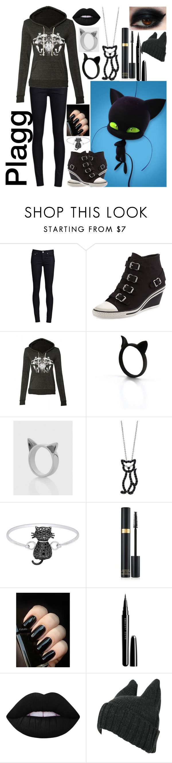 """""""Plagg: Miraculous Ladybug"""" by ender-chic52 ❤ liked on Polyvore featuring THVM, Ash, Meadowlark, Roberto Coin, Finesque, Tom Ford, Marc Jacobs and Lime Crime"""