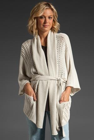 sweater/robe
