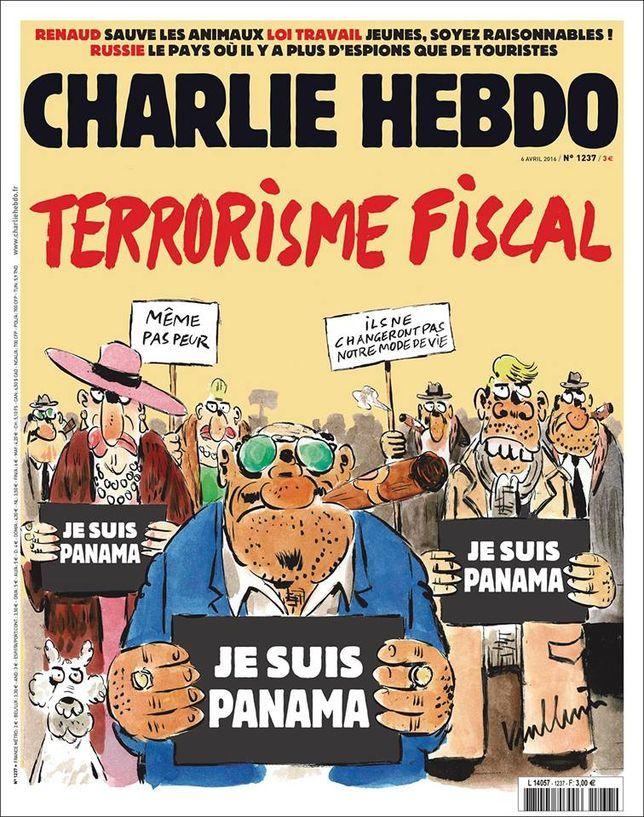 Le «terrorisme fiscal» en couverture de Charlie Hebdo - Libération