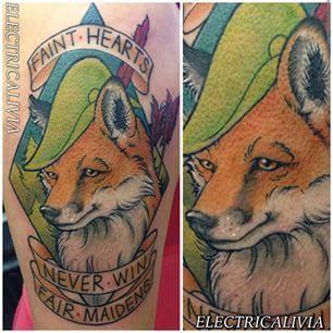 Disney Robin Hood tattoo