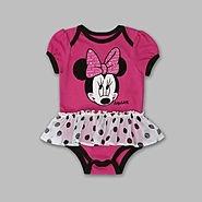 Disney Girls Newborn & Infant Minnie Mouse Tutu Romper at Kmart.com