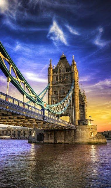Tower Bridge, London,England ~
