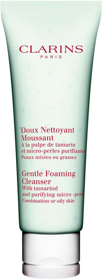 Clarins Gentle Foaming Cleanser, Combination/Oily Skin, 4.4 oz.