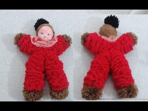 Aprenda a fazer Boneca de Lã... - YouTube