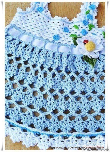 Como hacer un vestido de tirantes a crochet01