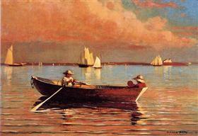 Gloucester Harbor - Winslow Homer