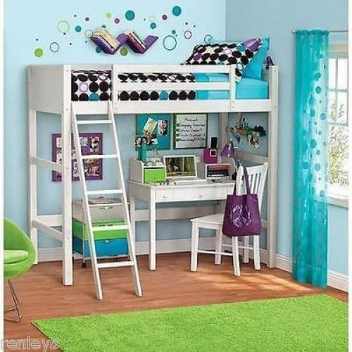 15 must see teen loft beds pins beds for teenage girl single bunk bed and lofted beds - Beautiful bunk bed teens ...