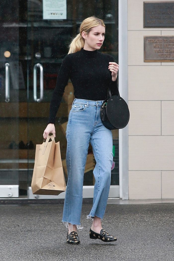 9 Perfect T Shirts Celebrities Wear With Jeans Who What Wear Uk In 2020 Celebrity Style Casual Celebrity Style Jeans Celebrity Street Style