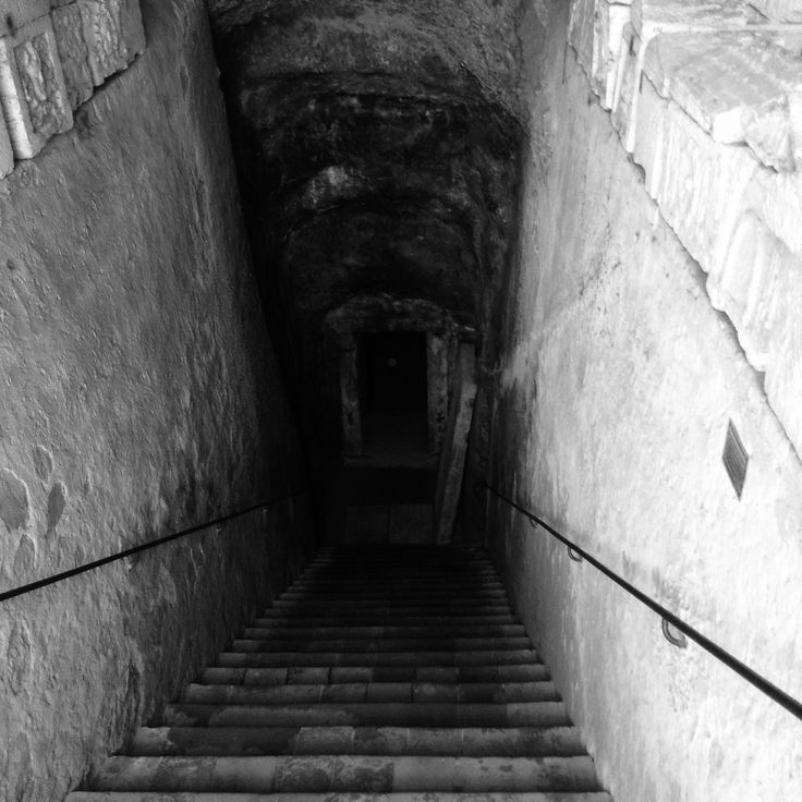 Ingresso Volumni tomb