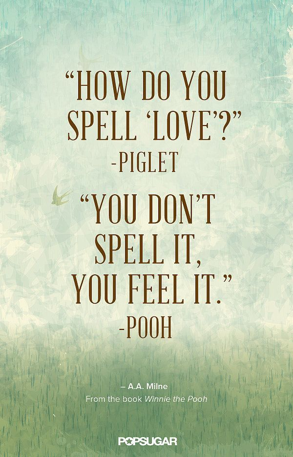 A sweet love quote from Winnie the Pooh. Super easy to re-create in PicMonkey.