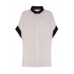 Camisa Chiffon Wide Beige. 26,90€