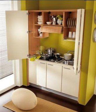 Cocina para casas pequeñas