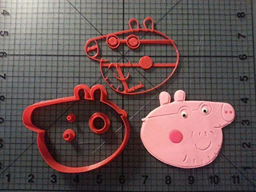#Peppa Pig - Daddy Pig #Cookie Cutter Set 5.5 Inches ...