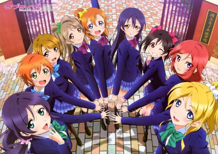 School idol project   Anime circle of friends   Pinterest ...