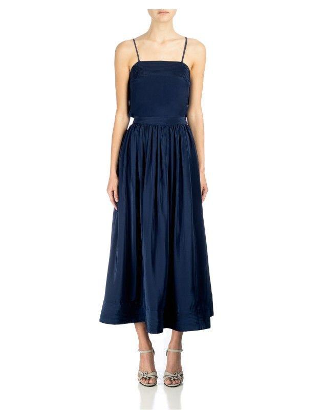 Cynthia Rowley - Trapunto Maxi Skirt | New Arrivals
