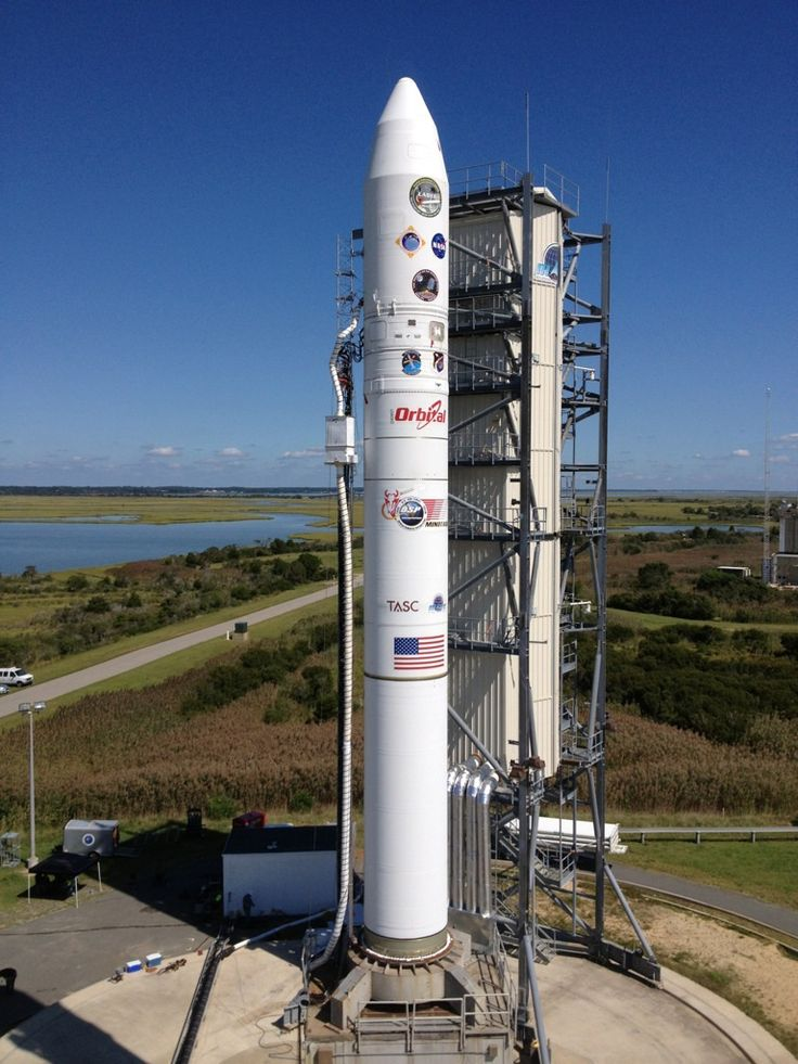 LADEE ready for launch at Wallops Flight Facility on Wallops Island.