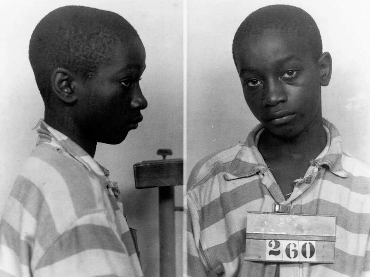 The youngest person executed, George Stinney Jr, a black teenager executed in 1944 for the alleged murder of two white girls.