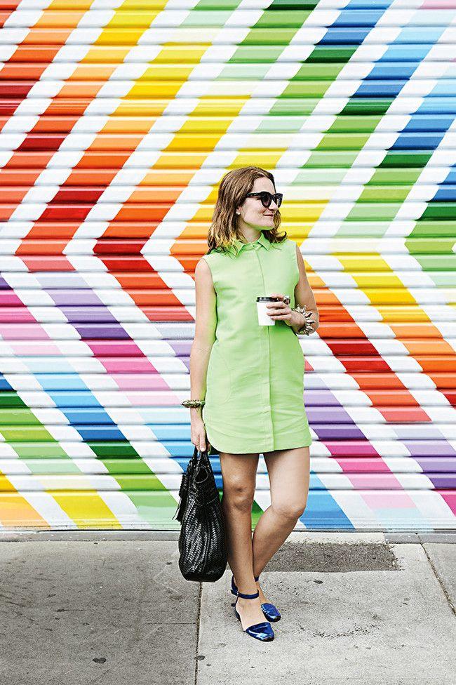 Artist Miranda Skoczek's colourful Melbourne apartment image 1