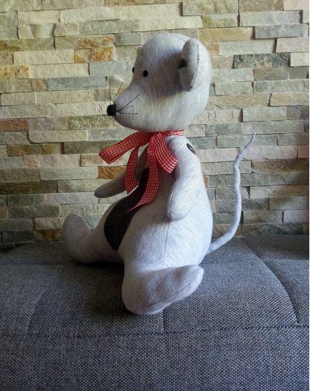 Wykonała:Graga.Tą mysz wykonałam dla mojego wnuczka.