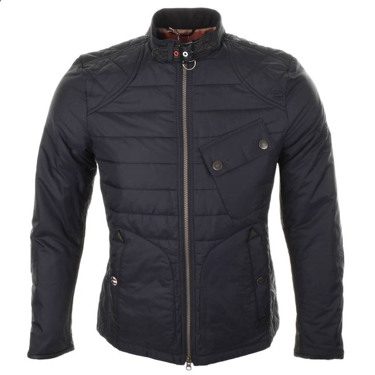 Barbour International Jackets and Coats | Barbour International Lee Quilt Jacket Navy | Barbour Jackets | Barbour International Coats Jackets | Mainline Menswear Official Stockists Of All Barbour Mens Designer Jackets Outewear Online UK Next Day Delivery