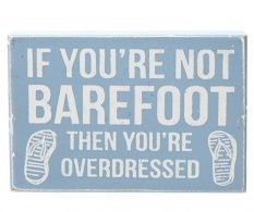Placuta decorativa Barefoot
