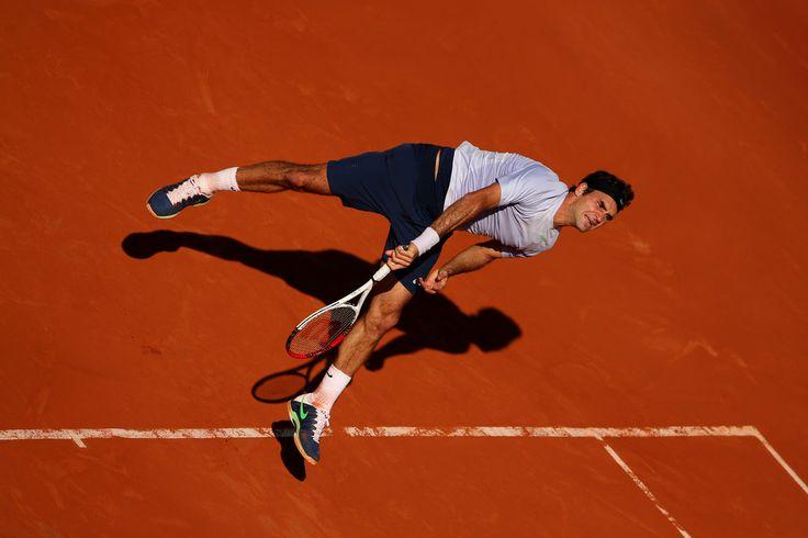 Roger Federer - French Open: Day 10