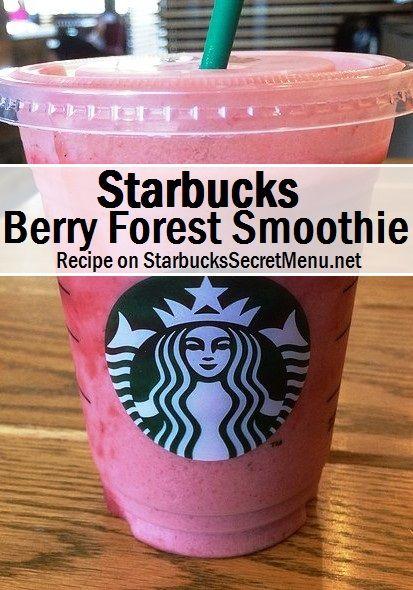 Starbucks Berry Forest Smoothie! #starbuckssecretmenu How to order: http://starbuckssecretmenu.net/berry-forest-smoothie-starbucks-secret-menu/