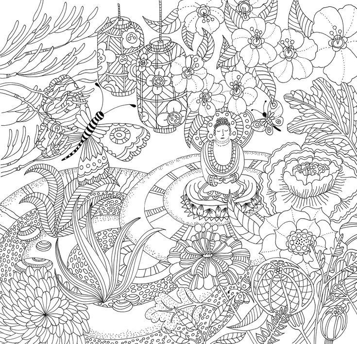 68 Best images about coloriage zen on Pinterest Gautama
