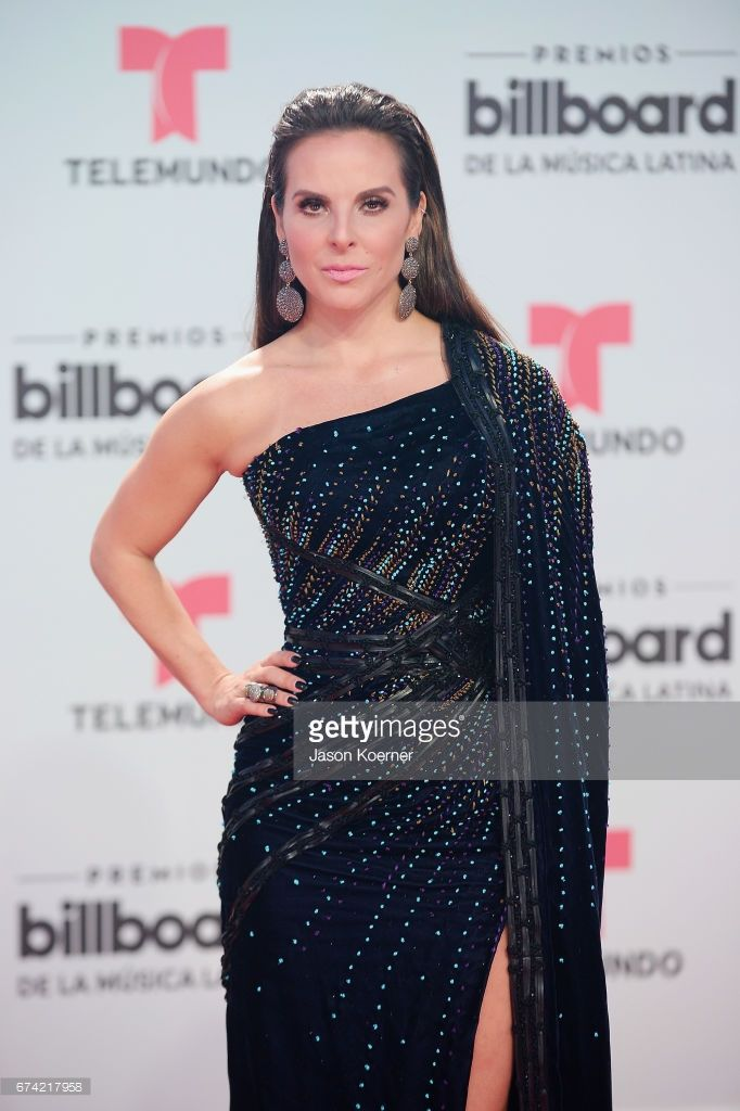 Kate Del Castillo attends the Billboard Latin Music Awards at Watsco Center on April 27, 2017 in Miami, Florida.