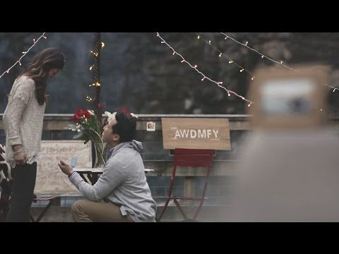 Take a break to watch this adorable proposal video...
