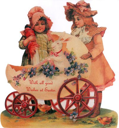 83 best images about Victorian Easter – Victorian Easter Cards