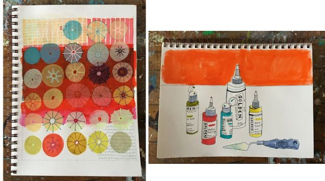 A Peek Into the Sketchbooks of Naomi Taitz Duffy on the My Giant Strawberry Blog