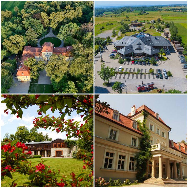 Małopolska: pałace i dworki    castles and manor houses